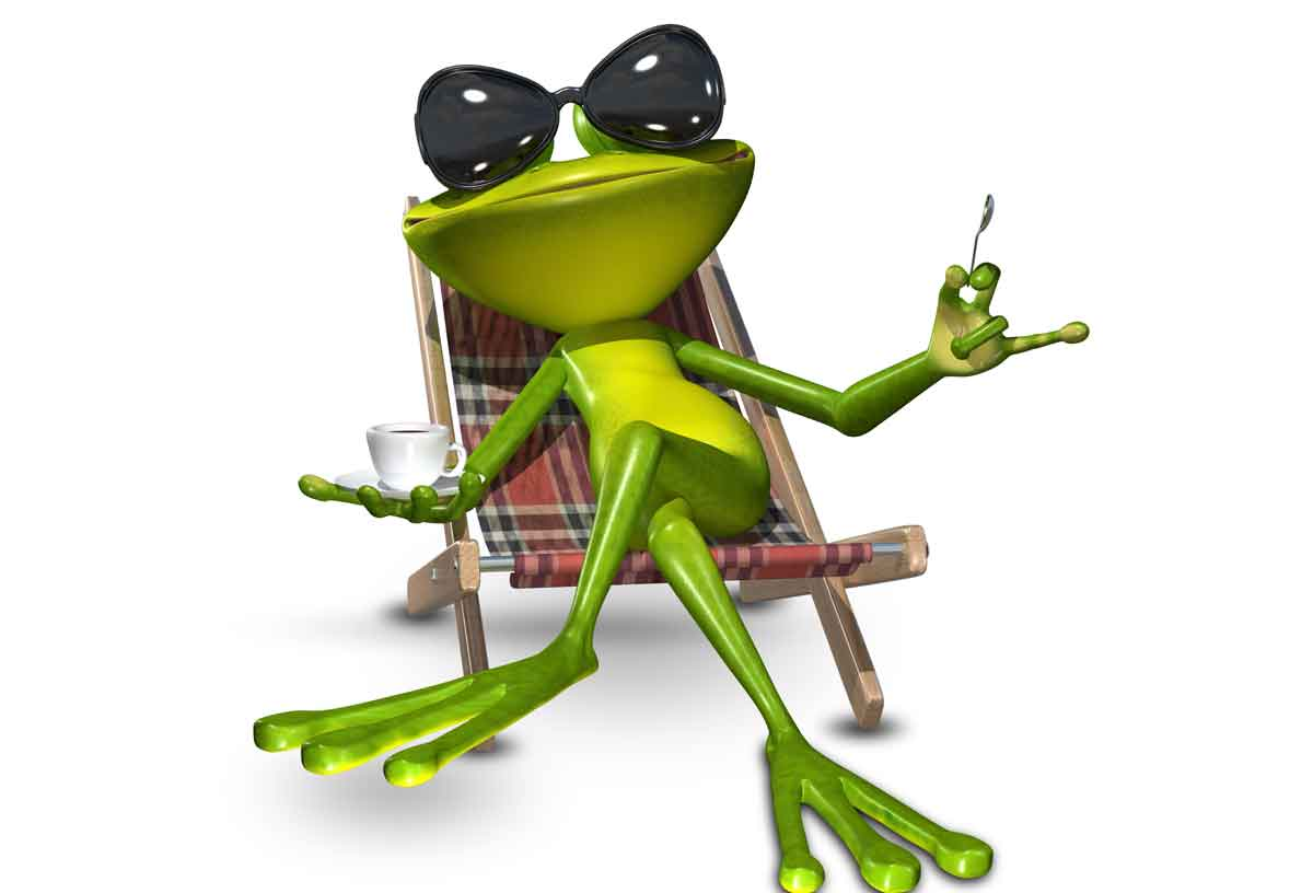 Warum Kermit der Frosch Linkshänder ist